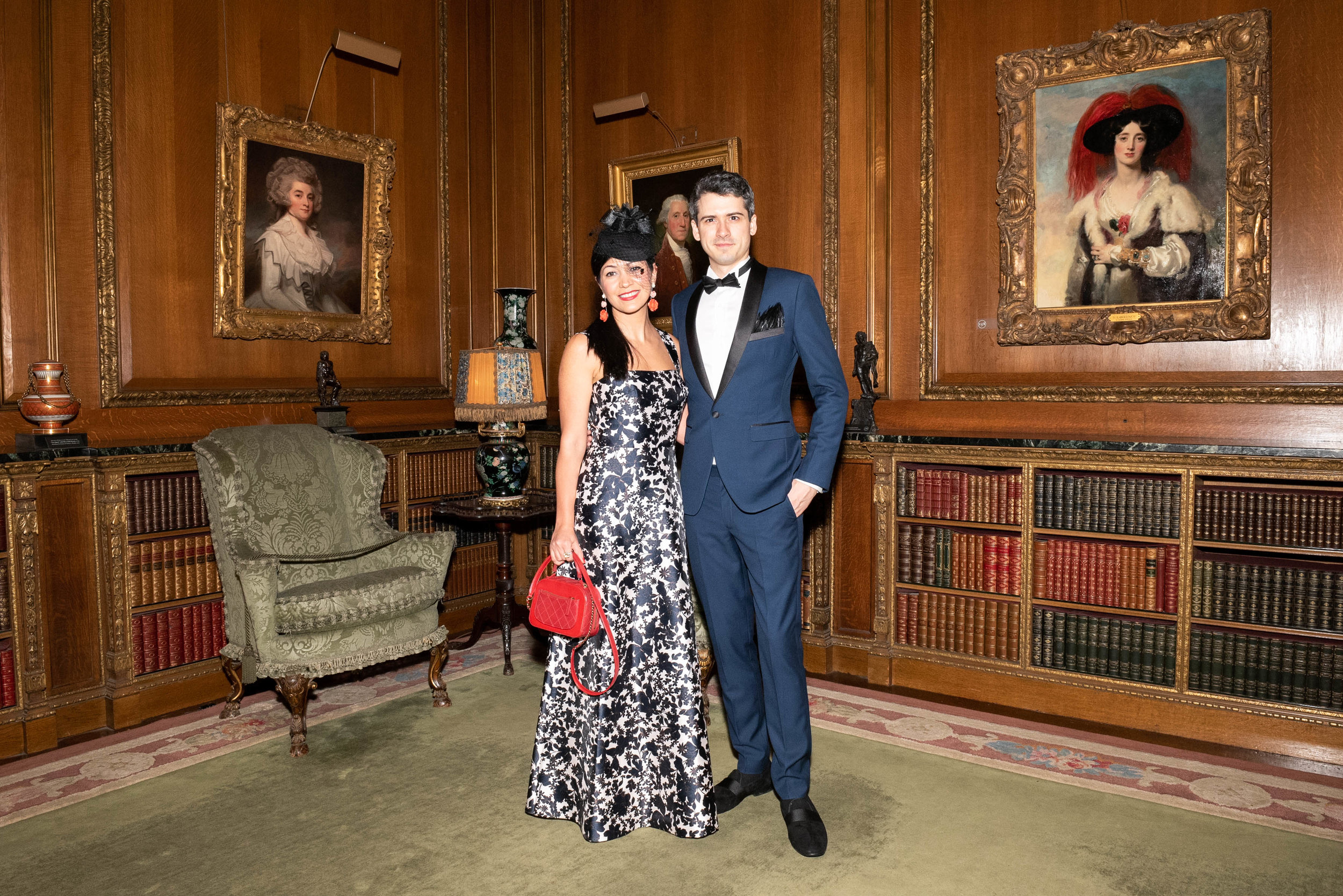 Avishan Bodjnoud and Adam McDaniel attend The Frick Collection's 20th Annual Young Fellows Ball at 1 East 70th Street on Thursday, March 21st, 2019. Photography, Courtesy of The Frick Collection.
