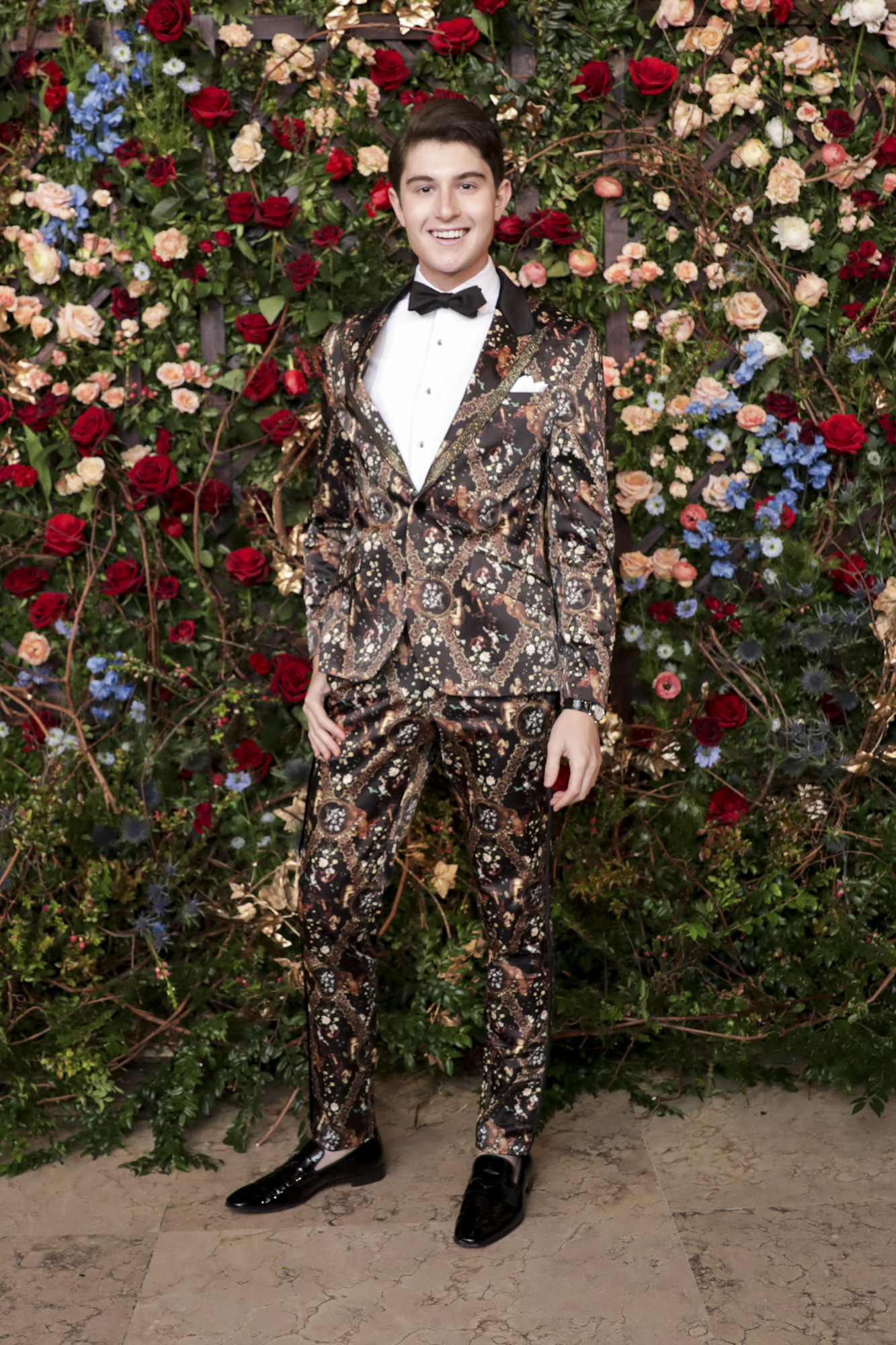 Larry Milstein attends The Frick Collection's 20th Annual Young Fellows Ball at 1 East 70th Street on Thursday, March 21st, 2019. Photography, Courtesy of The Frick Collection.