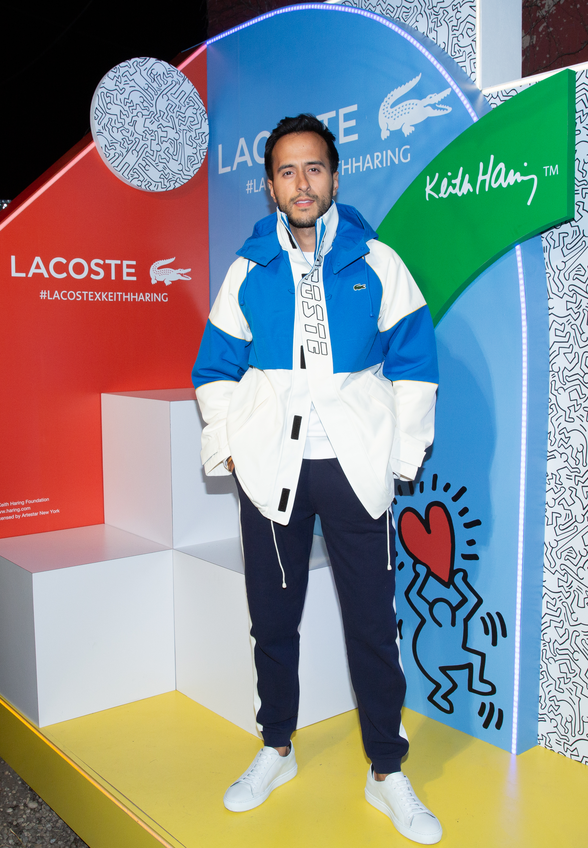 Moti Ankari attends The Lacoste x Keith Haring Global Launch Party at Pioneer Works on Tuesday, March 26th, 2019. Photographed by Max Lakner/BFA.