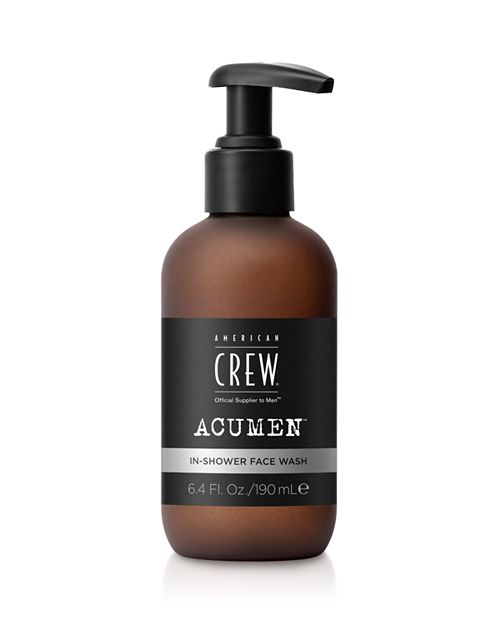 In-Shower Face Wash - 100% Exclusive     American Crew Acumen     $25