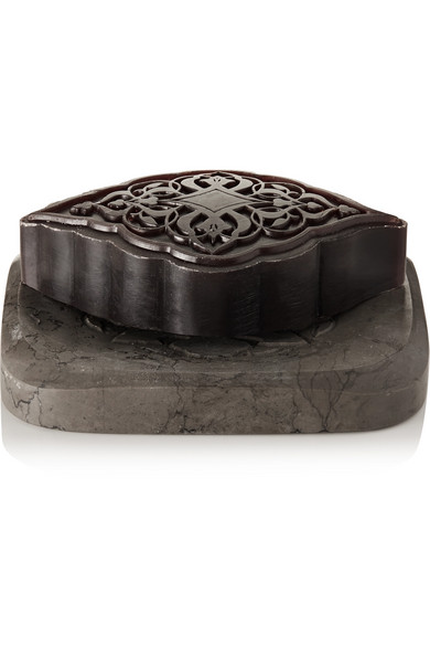 SENTEURS D'ORIENT   Amber Ma'amoul Soap with Marble Dish, 285g  $78