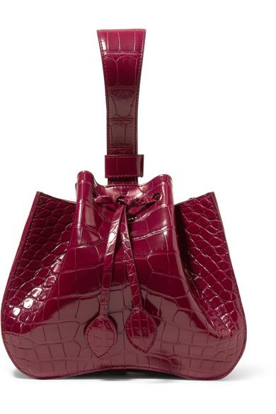 ALAÏA   Alligator bucket bag  $21,420