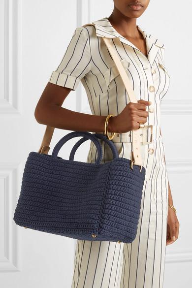 MIZELE   Muzelle crocheted cotton tote  $368