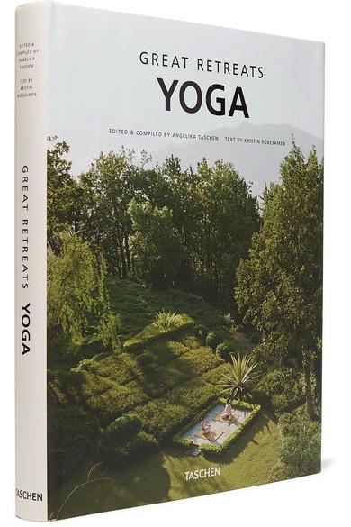 TASCHEN   Great Yoga Retreats hardcover book  $20