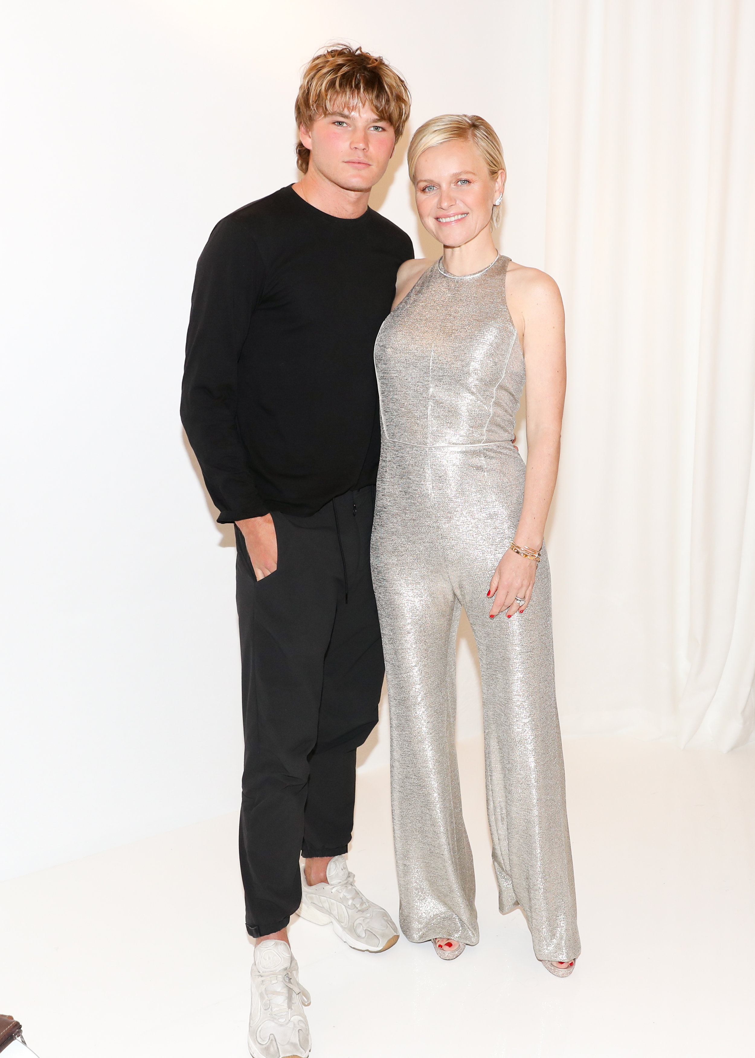 From Left To Right: Jordan Barrett and Dr. Barbara Sturm attend The Opening of The Dr. Barbara Sturm Zero Bond Boutique & Spa on Thursday, May 2, 2019. Photographed by Neil Rasmus/BFA.