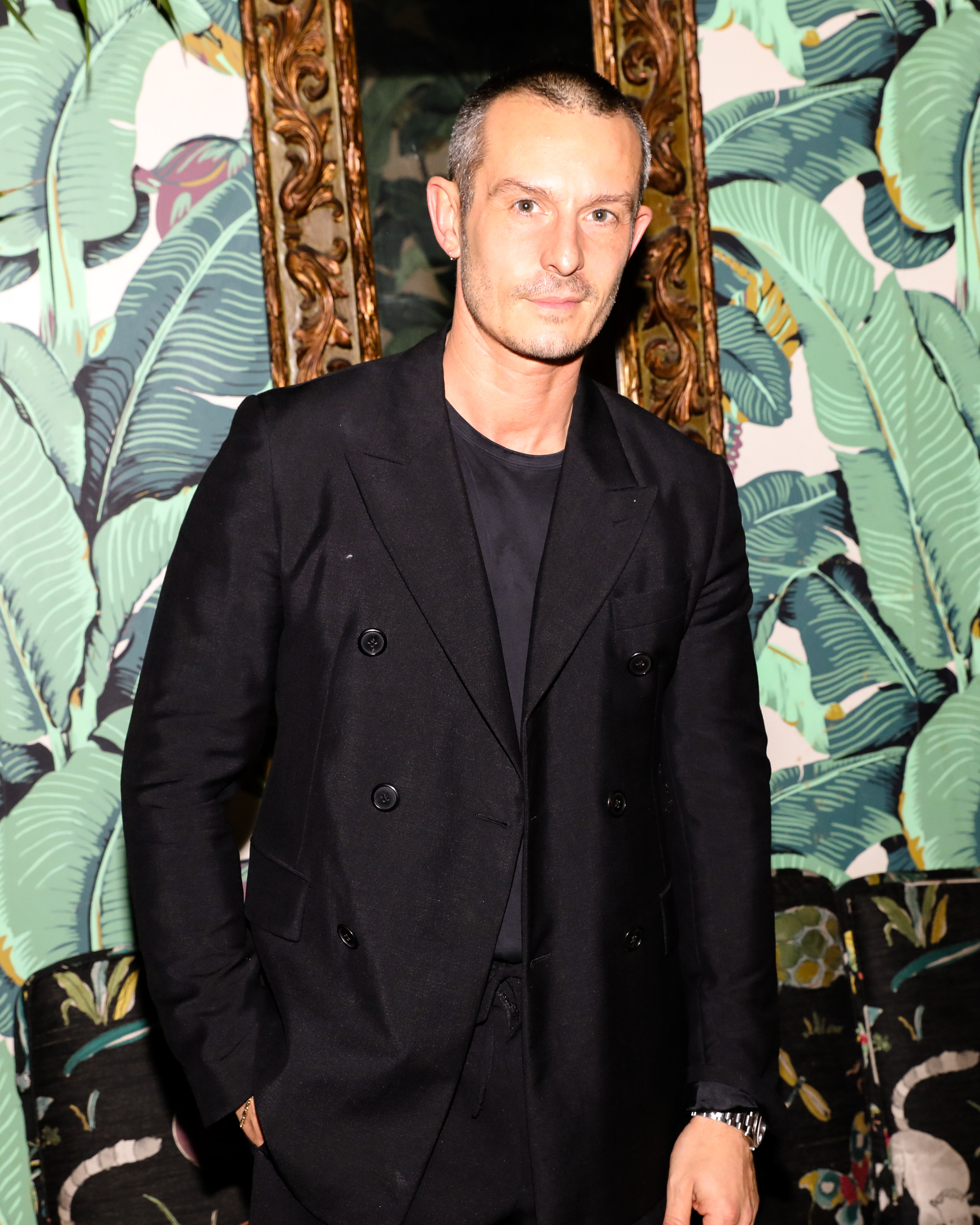 Jonathan Saunders attends The Opening of The Dr. Barbara Sturm Zero Bond Boutique & Spa on Thursday, May 2, 2019. Photographed by Neil Rasmus/BFA.
