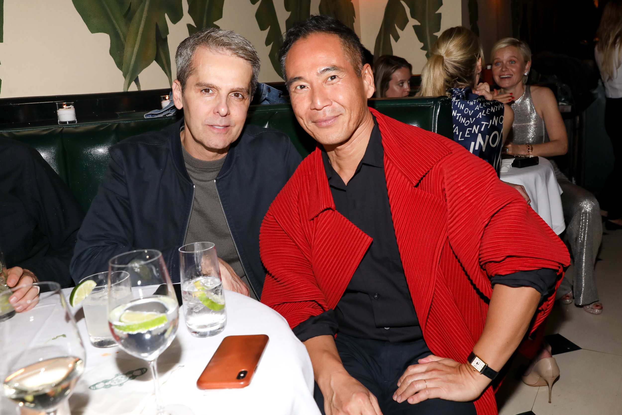 From Left To Right: David Farber and Marcus Theo attend The Opening of The Dr. Barbara Sturm Zero Bond Boutique & Spa on Thursday, May 2, 2019. Photographed by Neil Rasmus/BFA.