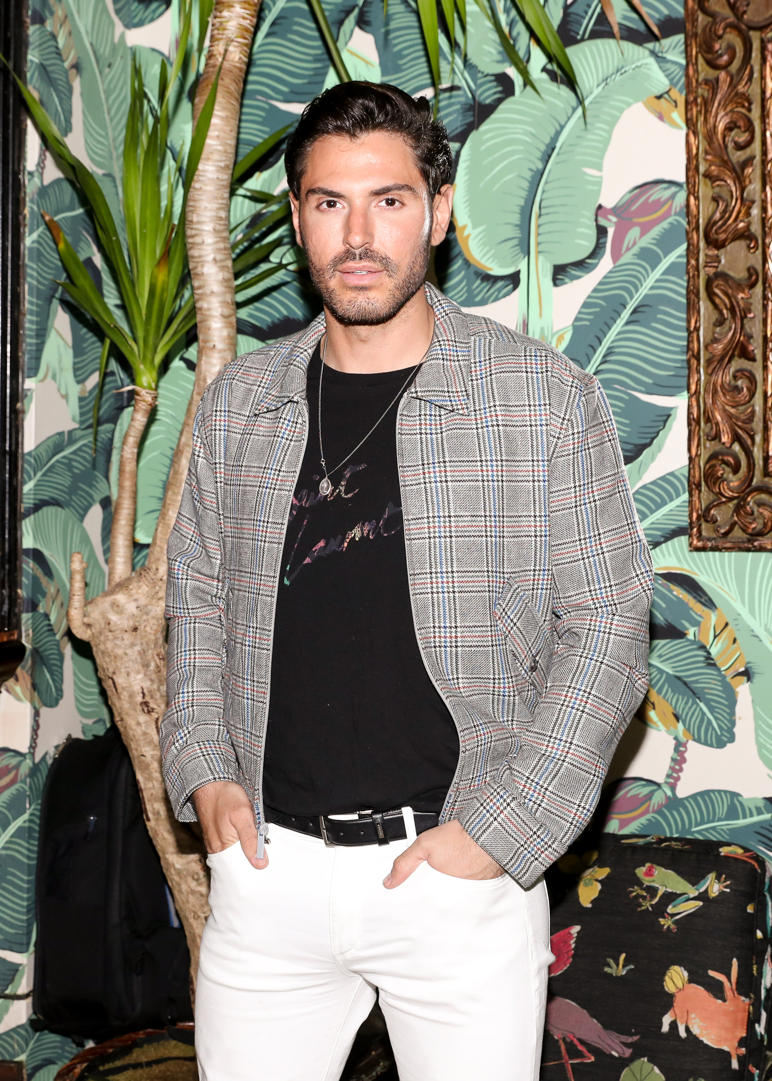 Joey Zauzig attends The Opening of The Dr. Barbara Sturm Zero Bond Boutique & Spa on Thursday, May 2, 2019. Photographed by Neil Rasmus/BFA.