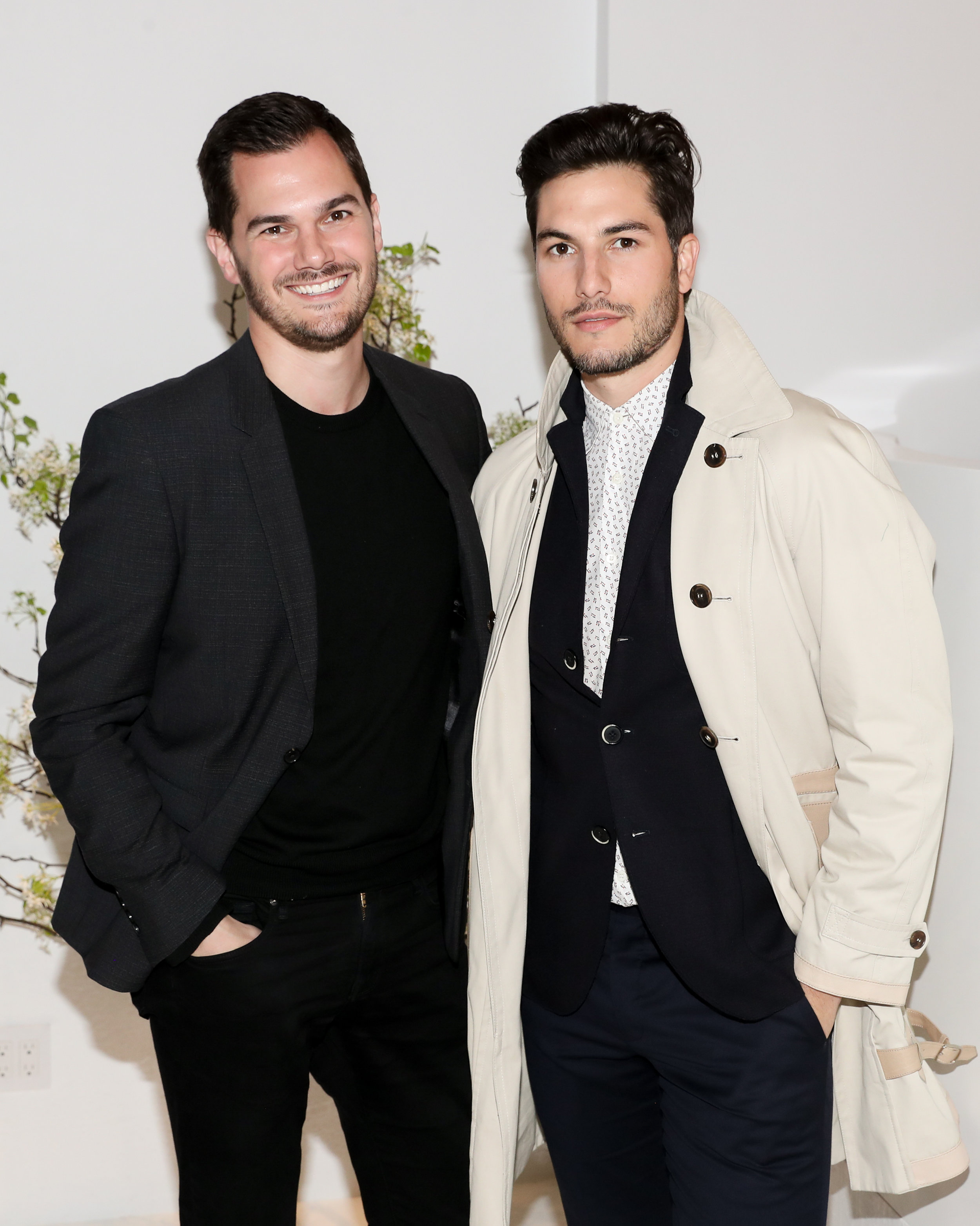 From Left To Right: Lyle Moltz and Sam Dumas attend The Opening of The Dr. Barbara Sturm Zero Bond Boutique & Spa on Thursday, May 2, 2019. Photographed by Neil Rasmus/BFA.
