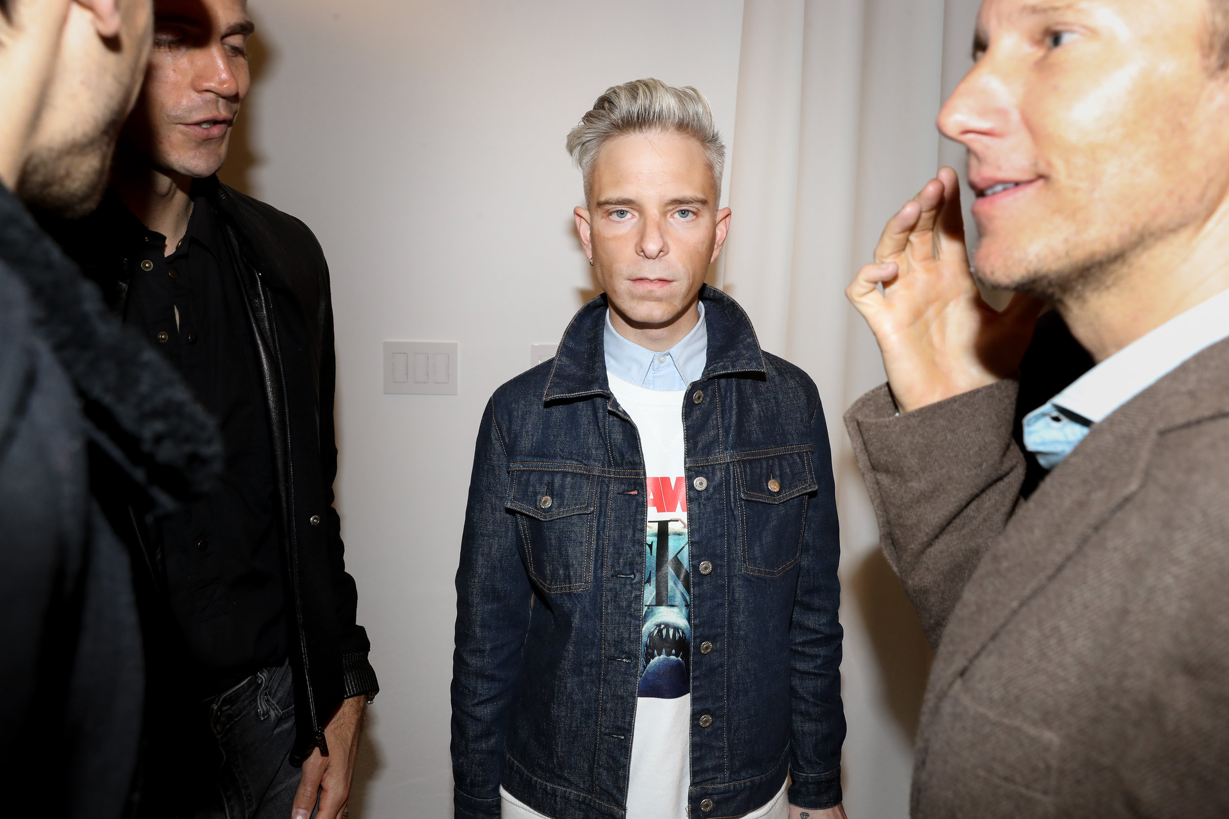 Drew Elliot attends The Opening of The Dr. Barbara Sturm Zero Bond Boutique & Spa on Thursday, May 2, 2019. Photographed by Neil Rasmus/BFA.