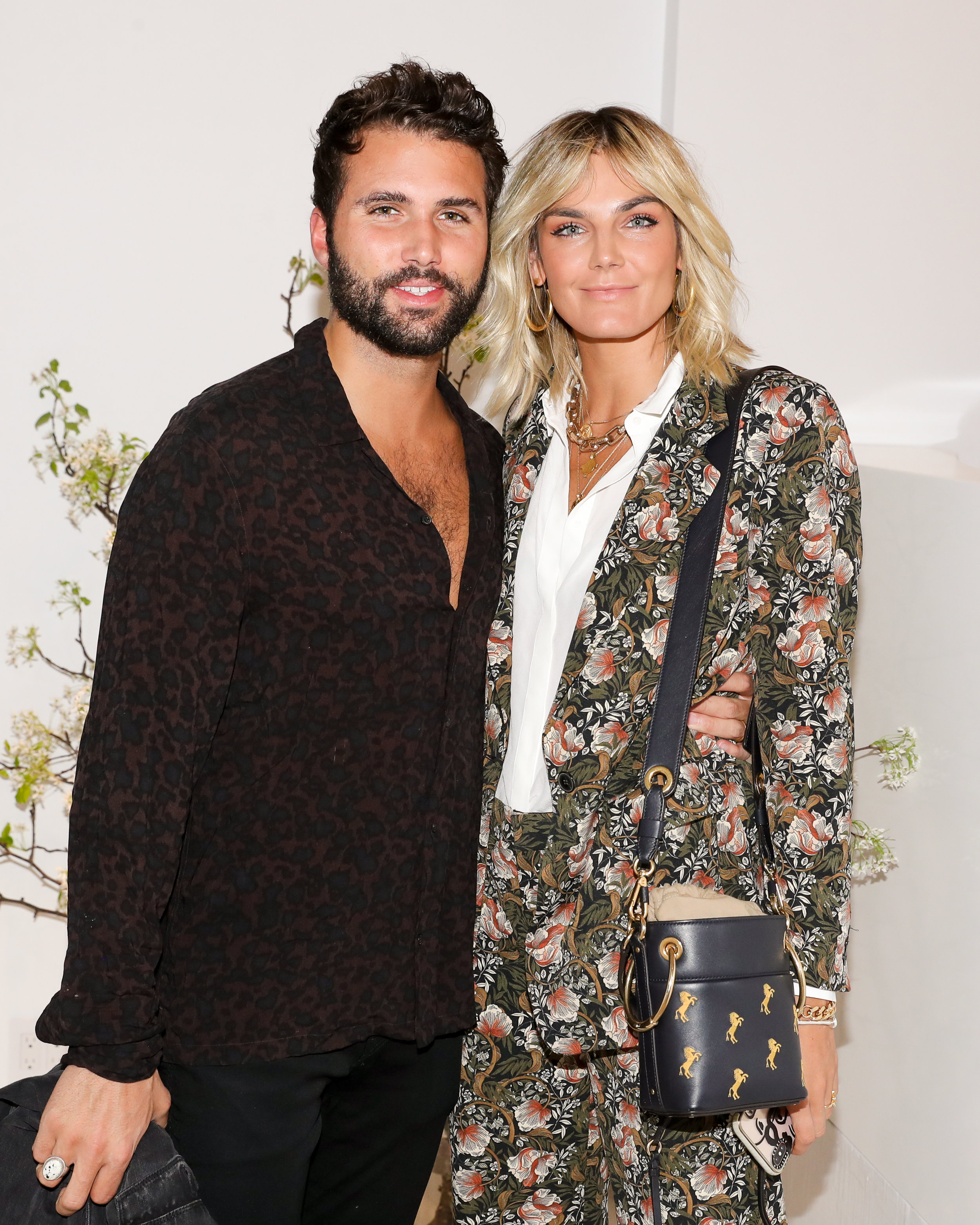 From Left To Right: Cole Herrmann and Tezza Barton attend The Opening of The Dr. Barbara Sturm Zero Bond Boutique & Spa on Thursday, May 2, 2019. Photographed by Neil Rasmus/BFA.