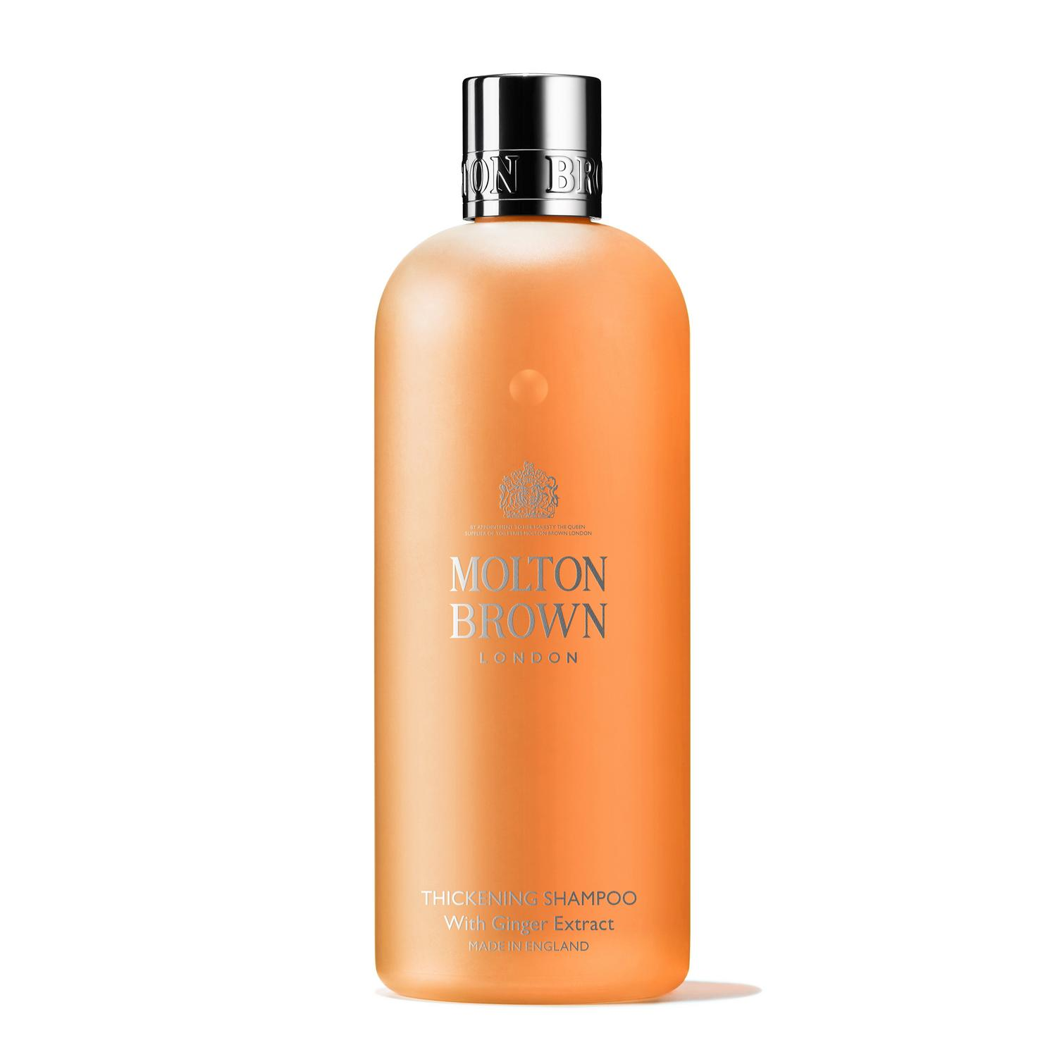 MOLTON BROWN   Thickening Shampoo With Ginger Extract  $30