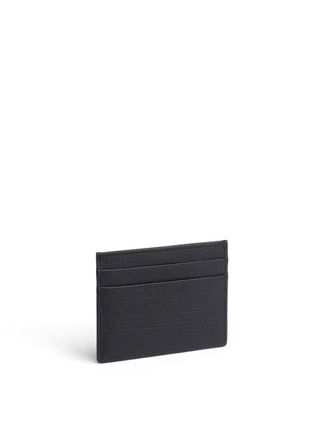 ERMENEGILDO ZEGNA  Leather Card Holder  $195