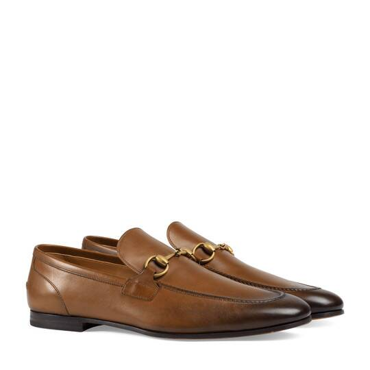 GUCCI   Jordaan Leather Loafer  $730