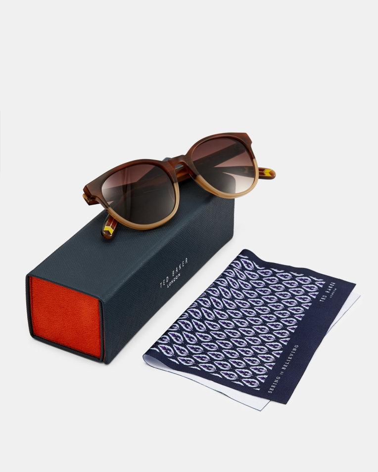 TED BAKER   HOYT Round Sunglasses  $125
