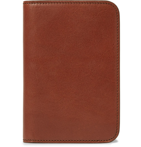 JAMES PURDEY & SONS   Leather Passport Cover  $199