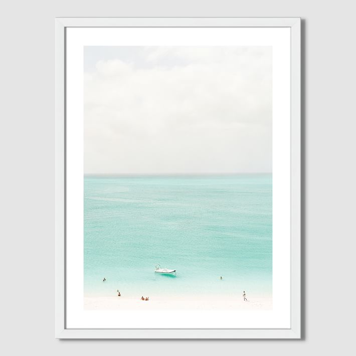 WEST ELM  Minted for West Elm — Island Time  $179