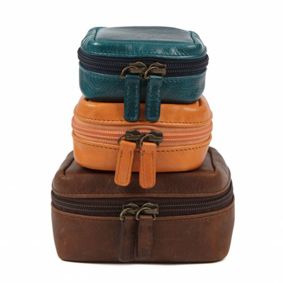 MOORE & GILES  Travel Pouches  $70