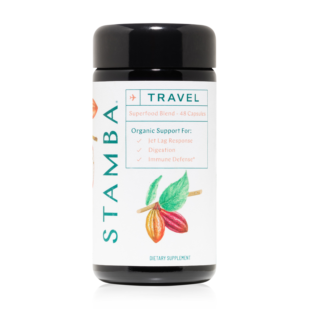 STAMBA   Travel Capsules  $45