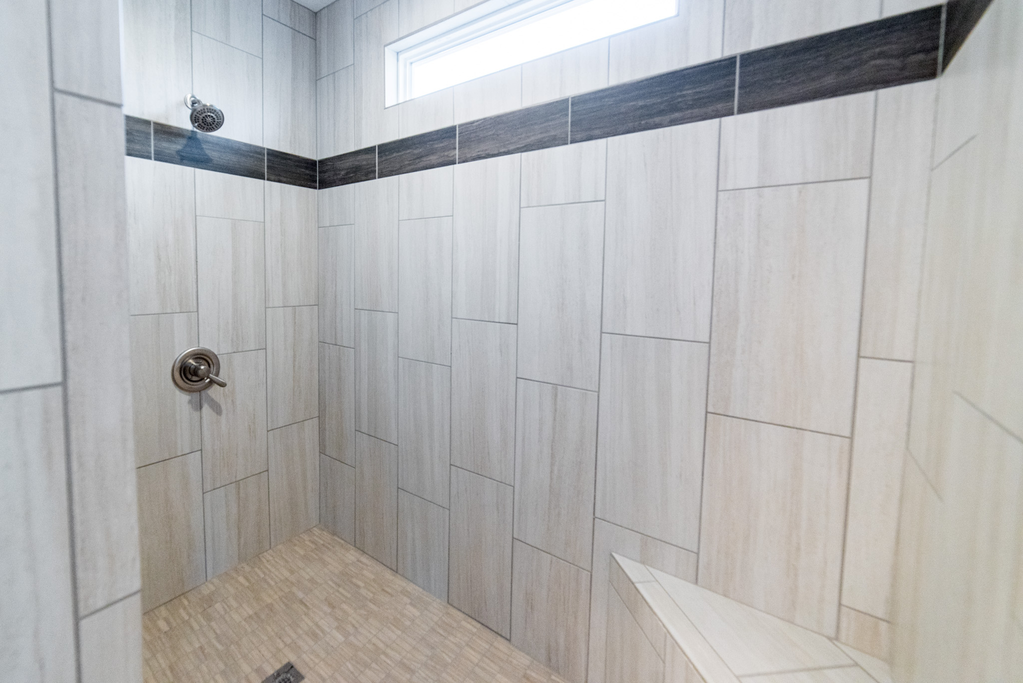 Custom Tile Shower (master)