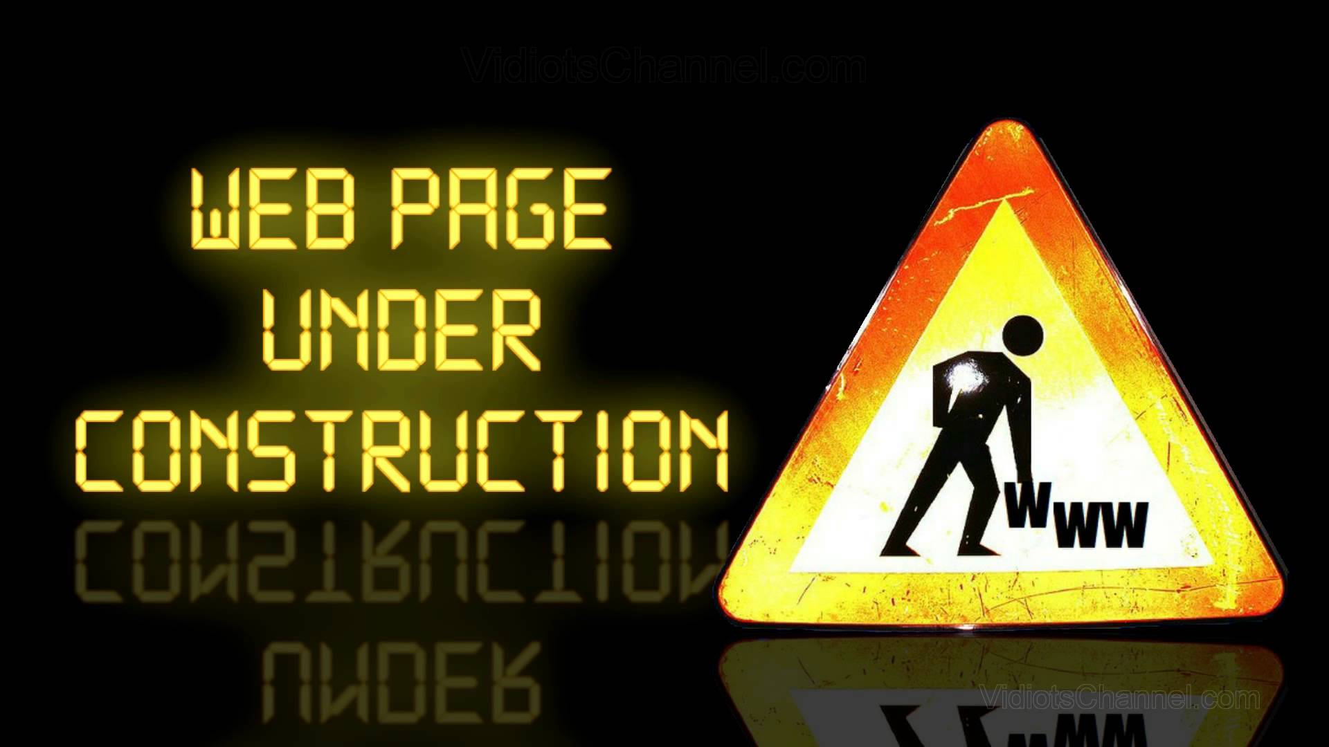 404 Page Under Construction
