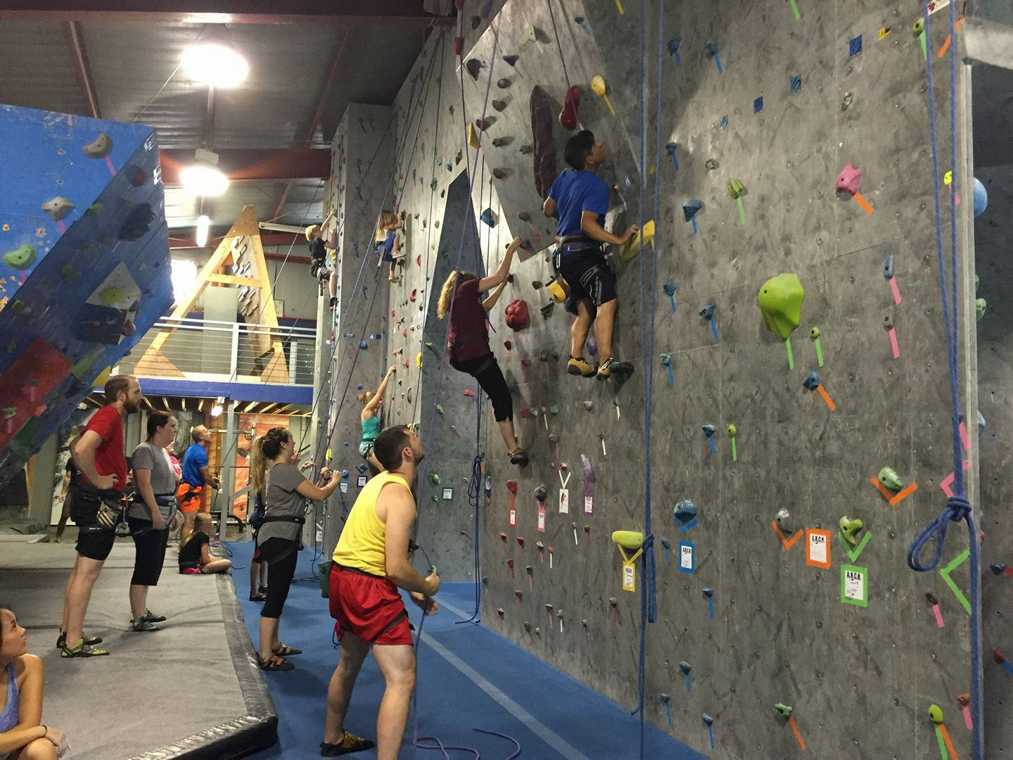 About - Find out about our day passes, memberships, classes, parties, and youth programs.