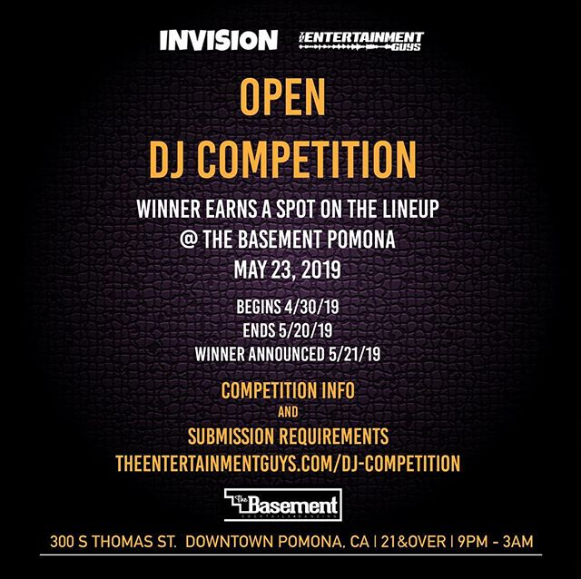 🗣Listen up all you up and coming DJs‼️ The rules are simple... Submit a short mix and repost the official flyer for a chance to earn a spot in the lineup of our next show. We're having some MAAAD talent that night and who knows who else is gonna be there listening😏 Hit the link in our bio for more info and competition rules ... . . . . #edm #dj #djcompetition #la #losangeles #lanightlife #plur #haus #house #bass #downtownla #techno #dubstep