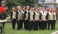 Sweet Adelines perform at the Galt Museum's Grand Re-Opening May 2006