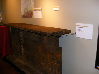 A beam from the twin towers.