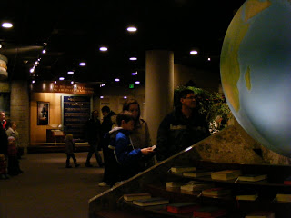 One of the exhibit spaces in the public buildings in Temple Square - Salt Lake City.