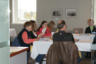 Members of the Galt Museum & Archives board at their monthly meeting.