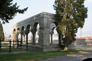 Or maybe something subtle like this to delineate your family's section of the cemetery?