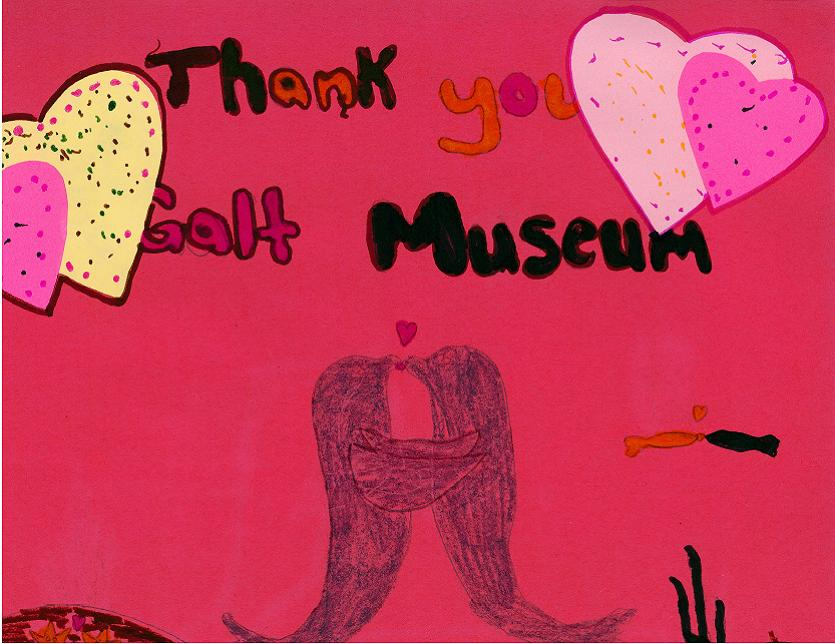 Thank You Galt Museum with Dolphins Kissing.jpg