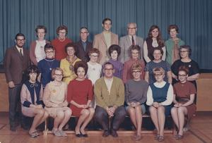 Galbraith School Staff 1968-1969. Galt Archives 20021003001.