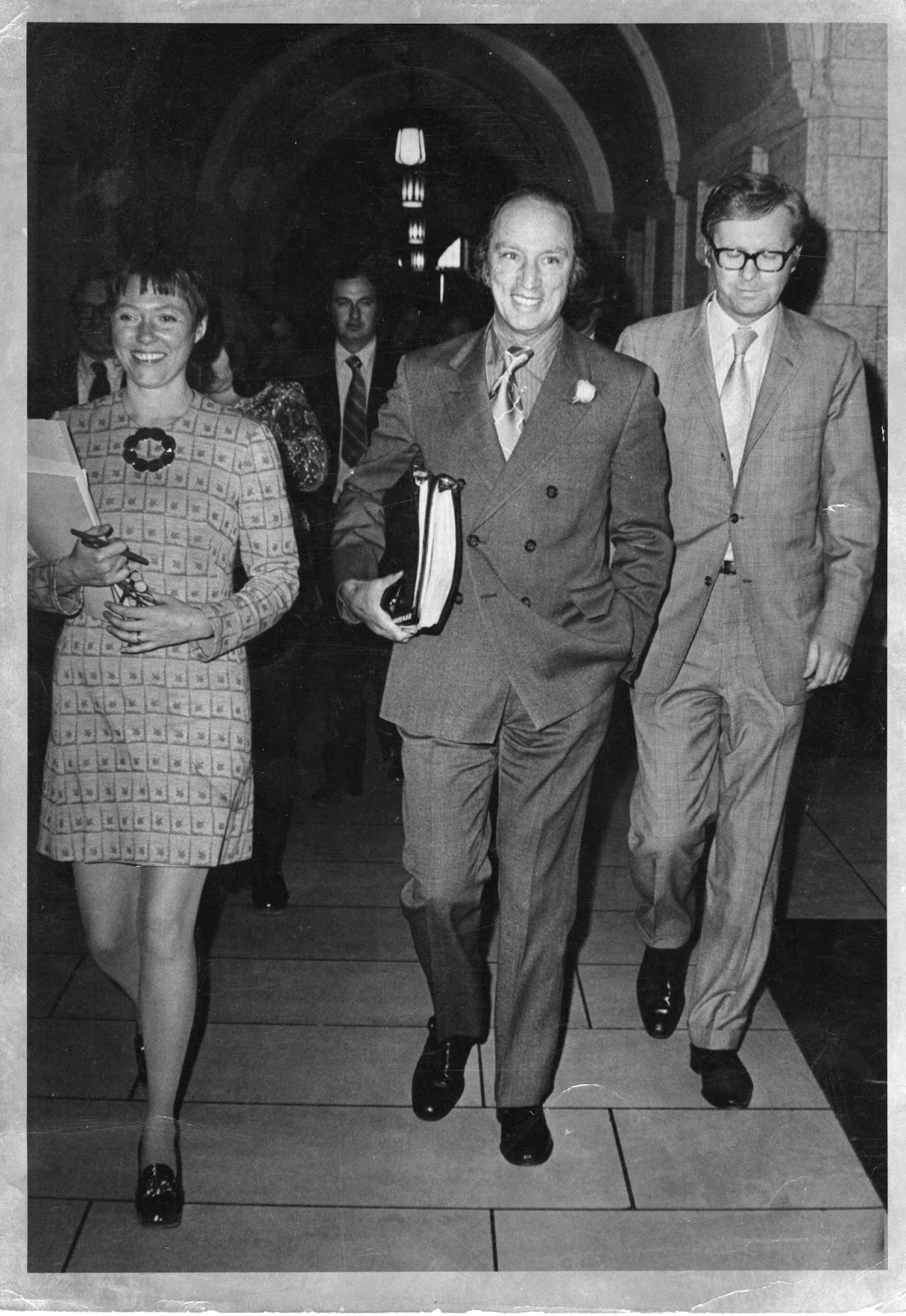 Joyce Fairbairn worked for Prime Minister Pierre Elliot Trudeau as a Legislative Assistant and, later, Senior Communication Coordinatoruntil 1984 when she became the firstSenator from Lethbridge, AB.