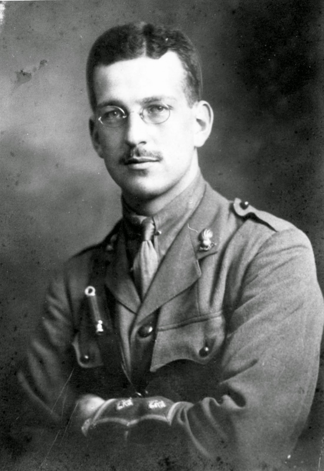 Lieutenant C.R. Magrath Godwin was given command of the first contingent of Lethbridge volunteers to leave the city. He served overseas with the 2nd battery Canadian Field Artillery and was killed in action in Belgium on April 4, 1916.  Courtesy the Galt Museum & Archives: 19841009002
