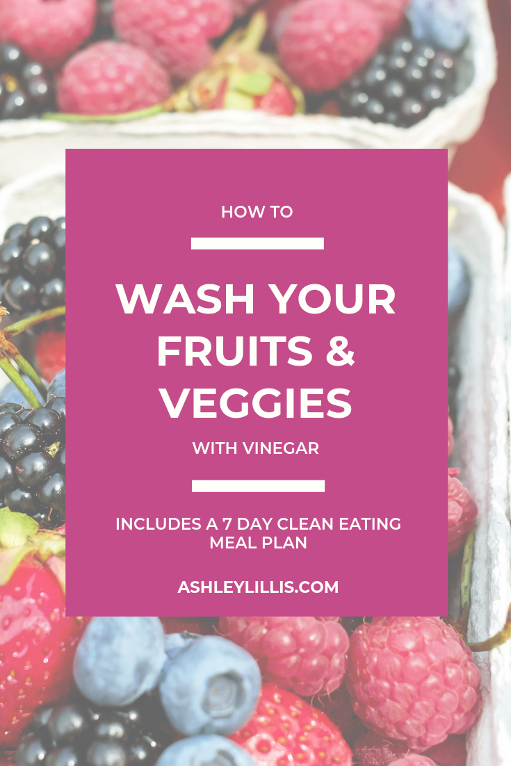 How to Wash Fruits and Vegetables with Vinegar