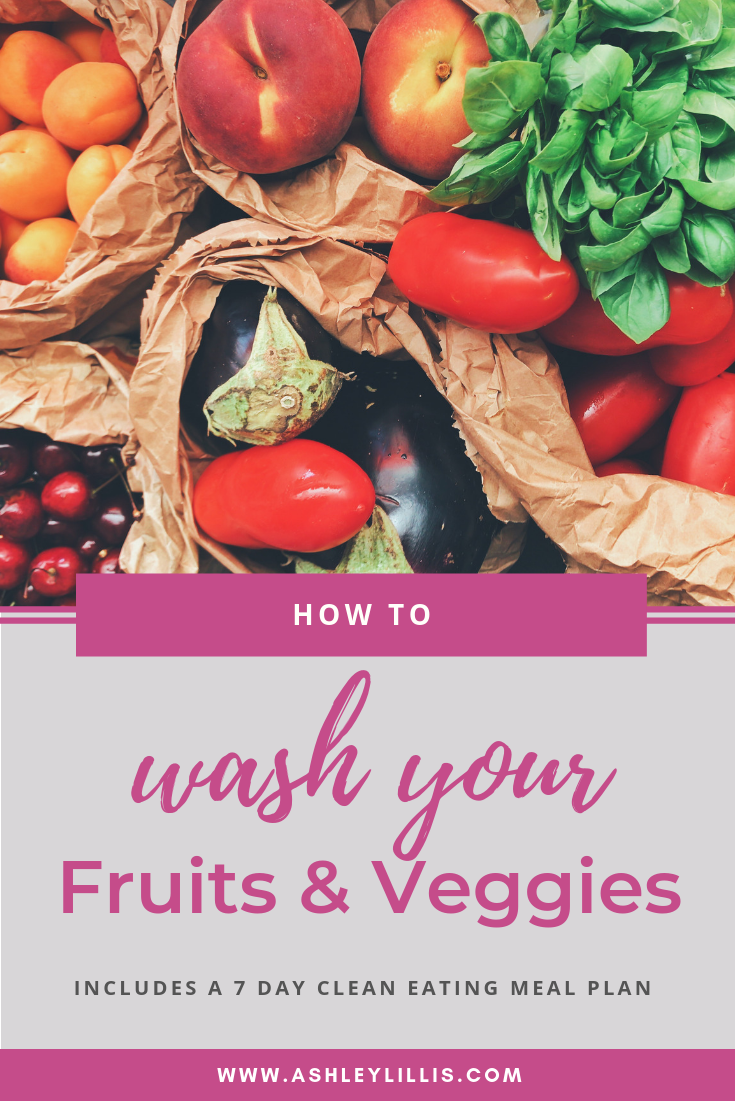 How to wash your fruits and veggies with vinegar