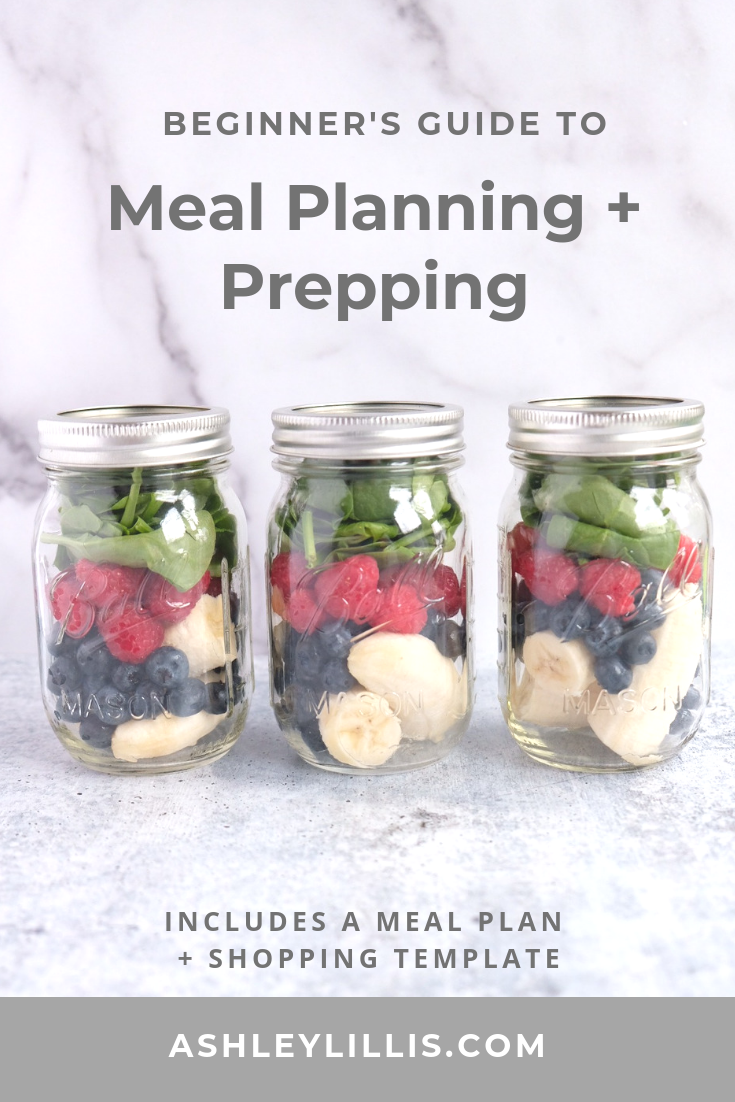 Meal Planning and Meal Prepping Tips