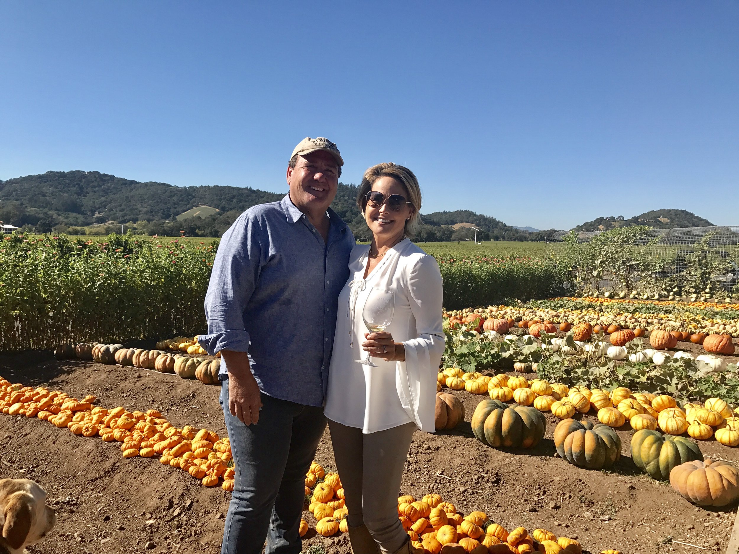 Jim & Laura Regusci, owners of Regusci Winery in Napa Valley's Stag Leap District