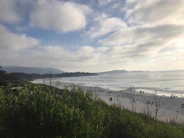 Carmel by the Sea beach walk