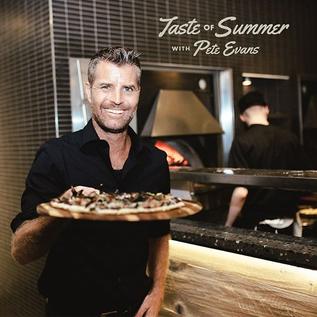 Today's the day we launch our Taste of Summer menu!  Celebrity chef and paleo-keto guru Pete Evans collaborated with our culinary team to create wholesome and flavourful paleo-and-keto-approved pizzas available all summer long.  Find four exceptional pizzas on our Taste of Summer menu - the Vegan Mushroom Pizza, the Chimichurri & Prawn Pizza, the Pork Belly Pizza and the Meatzza Pizza (meat-based dough!!!), accompanied by herbaceous salads and a vegan dessert pizza!  Enjoy sunny lunches and hangouts on our patio all summer long with the Taste of Summer menu!