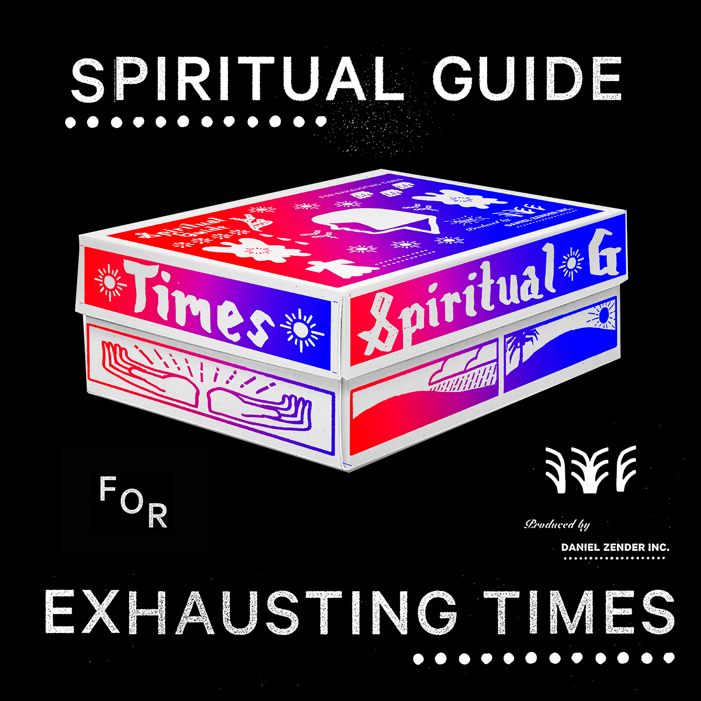 My Spiritual Guide for Exhausting Times.   A box of ephemera and periapts. Includes two zines, a talisman, and seeds. Available for purchase here:   https://www.etsy.com/listing/724765693/spiritual-guide-for-exhausting-times