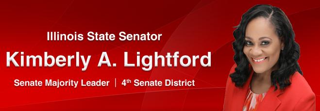 Illinois Senate Majority Leader KIMBERLY A. LIGHTFORD  Website