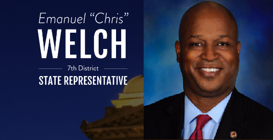 7th District State Representative    EMMANUEL CHRIS   WELCH  Website