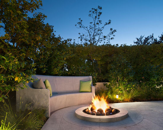 An Intimate Gathering Space - Crafting an aesthetic-driven stone patio