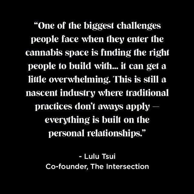 Real talk from Co-Founder Lulu Tsui.  Relationships are everything.  Join us on November 21.