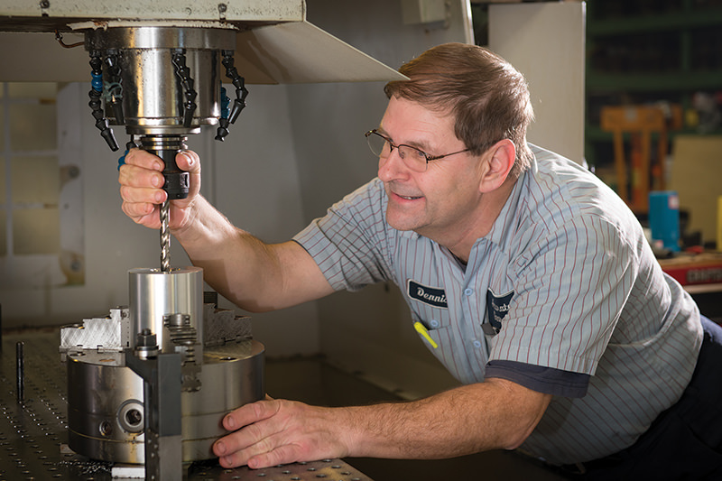 Machining   Additional drilling and machine processing of parts to meet special and unique applications.