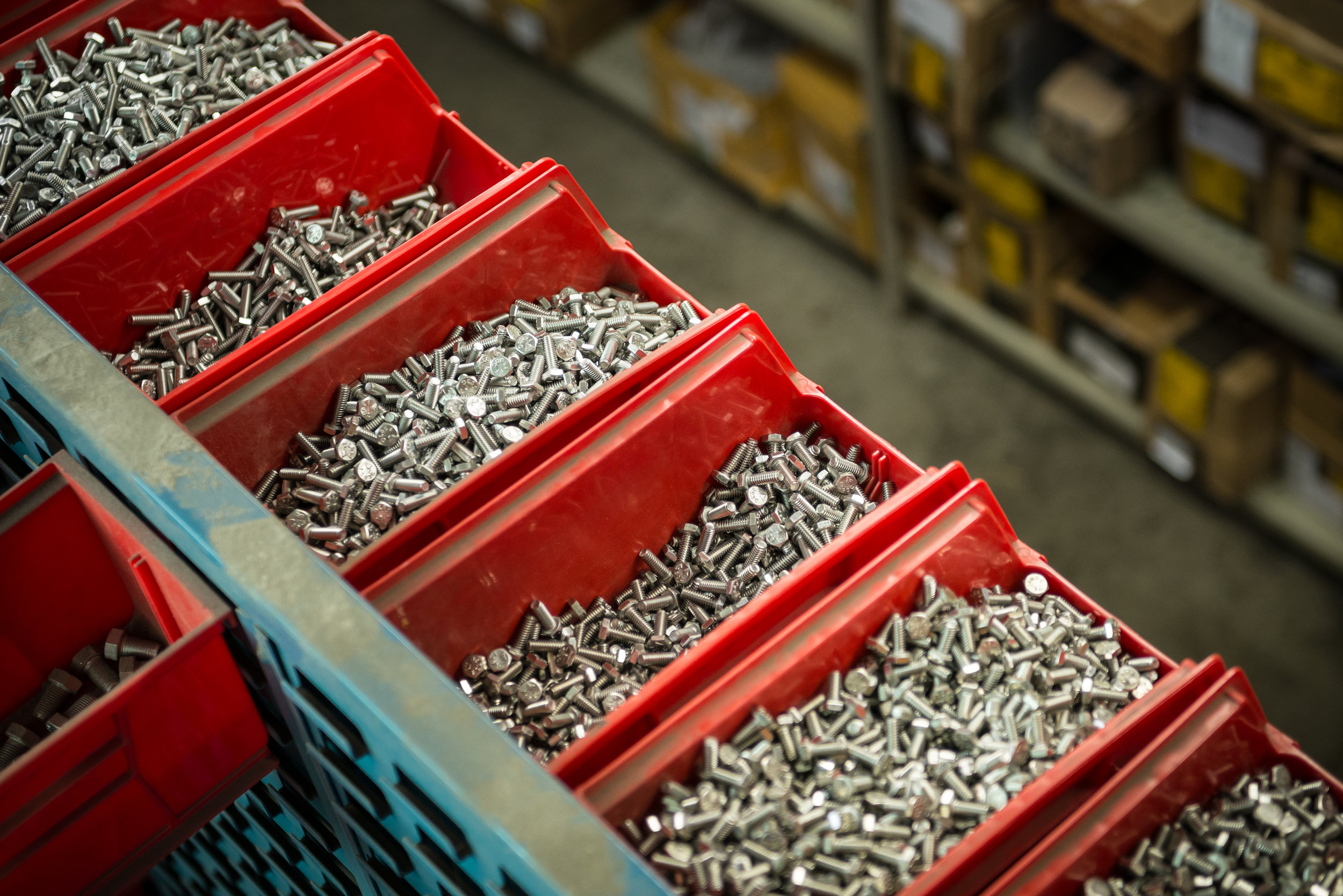Package Kits   Pre-assembly of kits of varying sizes of bolts, nuts, screws, washers and other fasteners commonly used in your operation.