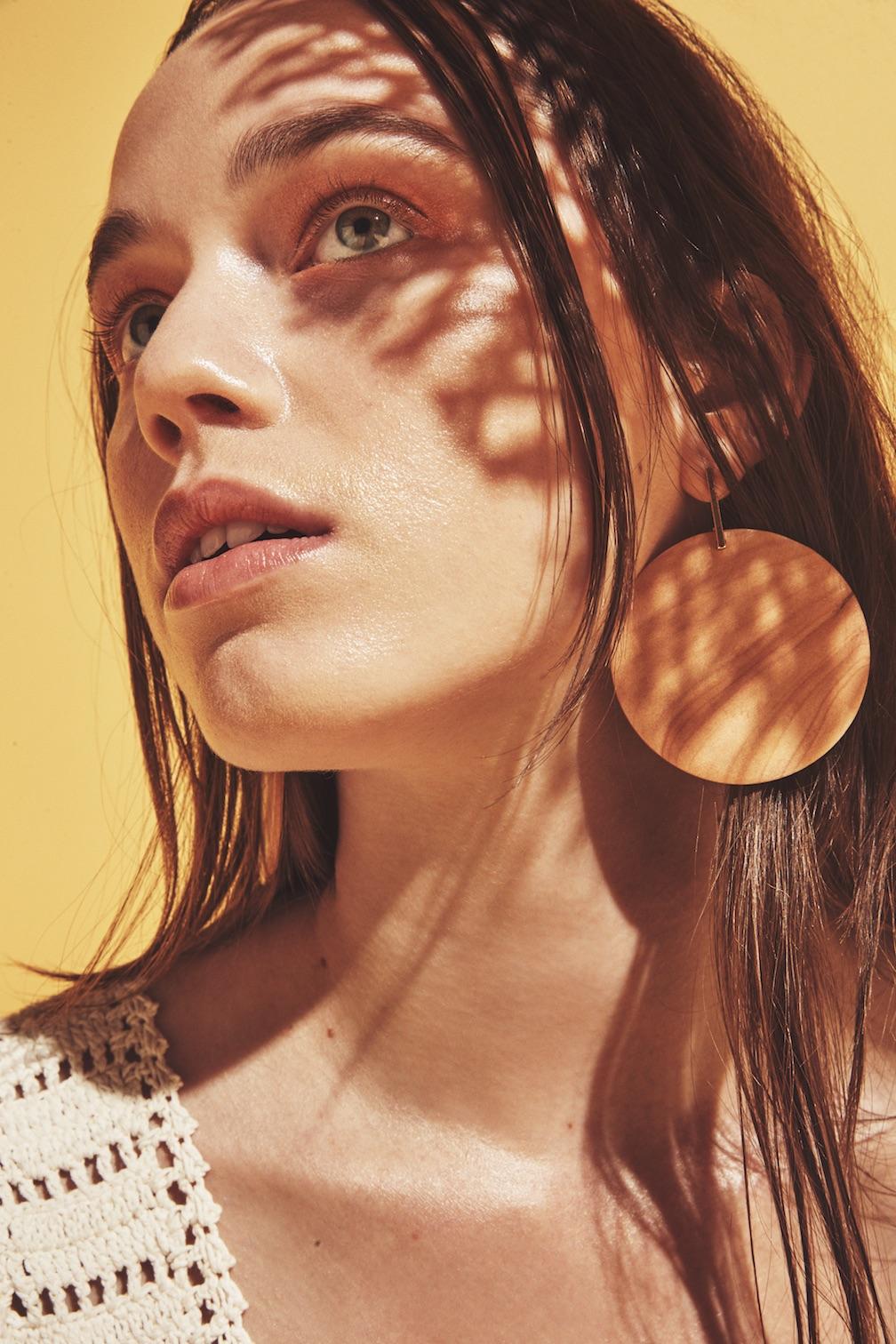 She Made Me top, Sophie Monet earrings.